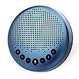 eMeet Konferenzlautsprecher - Luna Lite Bluetooth Speakerphone für 5-10 Personen, USB Freisprecheinrichtung 360° Spracherkennung, für Zoom, Skype,...