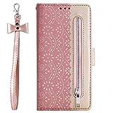 ZCDAYE Brieftasche Hülle für iPhone 6 6S,Glattes Muster Buch Design Magnetverschluss [Umhängeband][Standfunktion][Kartenfach] PU Leder Weich TPU Schutzhülle...