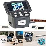Somikon Diascanner: Stand-Alone-Dia-, Negativ- & Super-8-Scanner, 12,5-cm-Farbdisplay (5') (Dias digitalisieren)