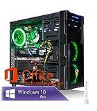 Ankermann Rabbit Gaming Gamer PC Intel i5-9400F 6X 2.90GHz 16GB RAM 240GB SSD 1TB HDD Windows 10 PRO W-LAN Office Professional