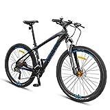NENGGE 27.5 Zoll Hardtail MTB 27 Gang-Schaltung für Herren Damen, Erwachsenen Mountainbike Fahrräder mit Gabelfederung Hydraulische Scheibenbremse, Rahmen...