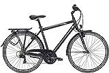 ZEG Pegasus Piazza 21 Herrenfahrrad 21 Gang Trekkingrad 2020, Farbe:schwarz, Rahmenhöhe:58 cm