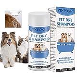 Hundeshampoo, Trocken-Schaum-Shampoo für Hunde und Katzen, Welpen Shampoo, Katzen Shampoo, natürliche Pflege für Fell & Haut, Hautfreundlich, Pflegend und...