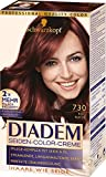 SCHWARZKOPF DIADEM Seiden-Color-Creme 730 Rotbuche Stufe 3, 3er Pack (3 x 180 ml)
