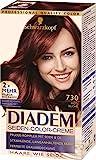 Schwarzkopf Diadem Seiden-Color-Creme, 730 Rotbuche Stufe 3, 3er Pack (3 x 180 ml)