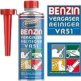 SYPRIN Original Vergaserreiniger VR51 für 2 Takt Benzin Motoren - geeignet für Auto und Motorrad I Additiv zur Vergaser Reinigung Additiv (250ml)