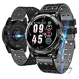 LIDOFIGO Smartwatch Smart Armband blutdruck Uhr mit herzfrequenz wasserdicht Fitness Tracker aktivitätstracker Bluetooth Sports Watch Schlafmonitor...