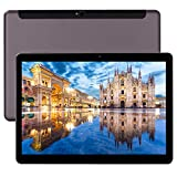 Tablet 10 Zoll 4G LTE Phablet Unlocked Android 8.0 Deca Core 6GB RAM 64GB ROM 1920x1200 IPS Dual Cameras Dual SIM Wifi OTG Bluetooth GPS Tablets(Black)