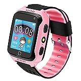Kinder Smartwatch Telefon, Handy Uhr für Kids, mit Anti-verlorener GPS Ortung Tracker, Rufen, SOS, Voice Chat, Pedometer, Wecker, Schulmodus, kinderuhr für...