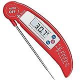 AMIR Fleischthermometer, Kerntemperatur Thermometer, Instant Read Grillthermometer, Bratenthermometer, Steak Thermometer, Thermometer Küche Ideal für Braten,...