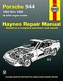 Porsche 944, 1983-1989 (Haynes Manuals)