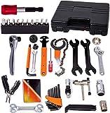 COZYROOMY Fahrrad Reparatur Werkzeug Set - Fahrrad Werkzeugkoffer, Fahrradwerkzeugset für Fahrrad Montagearbeiten und Reparaturen, Fahrrad Werkzeug mit...