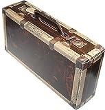 Schwarzwald Metzgerei - Geschenkebox im Koffer Design aus stabilem Karton, in sehr schöner in Holzoptik - 360 x 182 x 91 mm
