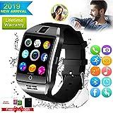 Bluetooth Smartwatch Touchscreen Kamera Wasserdicht Smart Uhr Sport Smart Watch mit Whatsapp Bluetooth Uhr Handy Intelligente Armbanduhr Kompatibel IOS iphone...