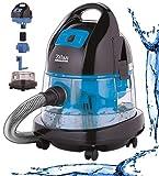 Zilan Staubsauger | 2.000 Watt | Wasser Staubsauger | Bodenstaubsauger | Staubsauger mit Wasserfilter | Für Innen- und Außenreinigung | Wassersauger | Mit...