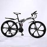 Fahrrad Stahlrahmen,Fahrrad 26 Zoll Mountainbike,24/27 Gang schaltung, vorderradgabelaufhÄngung mit verriegelungsfunktion, doppelscheibenbremsen und...