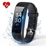 TOPLUS Fitness/Gesundheits Tracker Armband Smart Uhr Wasserdicht IP 68 Smartwatch Smartarmband für Aktivitätsmesser Kalorienverbrauch Pulsmesser...