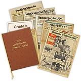 Zeitung vom Tag der Geburt 1950 - historische Zeitung inkl. Mappe & Zertifikat als Geschenkidee