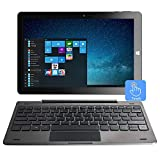 10,1 'Windows 10 Tablet-PC-Touchscreen 2-in-1-Laptop, Intel Quad Core 1.92 GHz, 4 GB DDR3, 64 GB eMMC, IPS, Bluetooth, HDMI, USB, Dual Kamera, WLAN, Micro SD,...