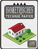 Isometrisches Zeichnen Din A4 100 Sleiten   Dreiecknetzpapier   Isometriepapier   Isometrie 3D-Zeichenblock   Isometrieblock: Architektenpapier ... Studierende...