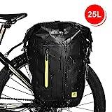 WATERFLY 25L Fahrradtasche Gepäckträger Tasche wasserdichte Gepäckträgertasche Fahrrad Hinterradtasche