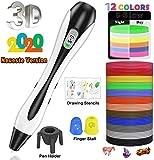 3D Stifte, für Kinder Erwachsene Anfänger mit PLA Filament 12 Farben -【Neueste Version 2019】Lovebay 3d pen Starter Set als kreatives Geschenk, Bastler zu...