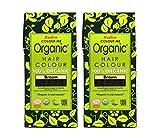 Radico Braun 2er-Pack Colour Me Organic Pflanzenhaarfarbe (bio, vegan, Naturkosmetik) braunx2
