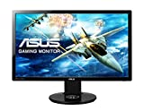 ASUS VG248QE 61 cm (24 Zoll) Gaming Monitor (Full HD, DVI, HDMI, DisplayPort, 1ms Reaktionszeit) schwarz