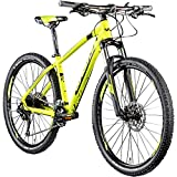 Whistle Mountainbike 650B Hardtail Miwok 2051 2020 Fahrrad Mountain Bike 27,5' (Neongelb/anthrazit, 51 cm)
