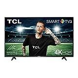 TCL 65AP610 65 Zoll (164 cm) Fernseher, 4K HDR, UHD, Smart TV, schmales Design (Micro dimming, Smart HDR, Dolby Audio, T-cast) Schwarz [Modelljahr 2020]