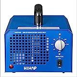 Profi Ozongenerator 3000 bis 7000mg/h- 3,5bis7g/h einstellbar Timer Ozon Generator perfekt Luftreiniger für Ihr Auto,Kücke Desinfektion, Formaldehyd...