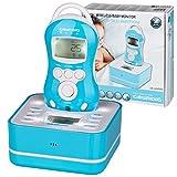 GRUNDIG Wireless Babyphone | Drahtloser, digitaler Monitor mit Ladestation | Nachtlicht, Einschlafmusik und Gegensprechfunktion | LCD-Display mit Temperaturanzeige | Reichweite 50m - 300m
