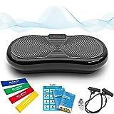 Bluefin Fitness Ultra Slim Power Vibrationsplatte   Fett verlieren und Fitnesstraining von Zuause   5 Trainingsprogramme + 180 Stufen   Bluetooth Lautsprecher  ...