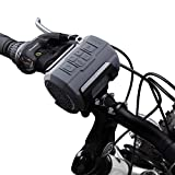 Fahrrad Lautsprecher, Venstar Tragbarer Bluetooth Lautsprecher Spritzwassergeschützt mit 6W Treiber, Unterstützt Micro SD/TF Karte, mit Befestigungskit und...