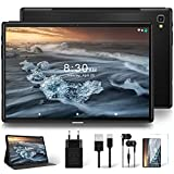 4G LTE Tablet 10 Zoll Octa-Core YESTEL T5 Original Android 10 mit Ultraschnelles 5G WiFi Tablet, FHD 1920 * 1200/Dual-SIM-Karte/1,6-GHz-Prozessor/Face ID/64 GB,...