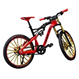 Almabner 1:10 Zink-Legierung Simulieren Riding Bike Modell, freistehend, klassisches Metall-Fahrrad-Modell, kreatives Geburtstagsgeschenk für Freund Papa...