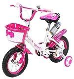 Actionbikes Kinderfahrrad Daisy - 12 Zoll – V-Break Bremse vorne - Stützräder - Luftbereifung - Ab 2-5 Jahren - Jungen & Mädchen – Kinder Fahrrad –...