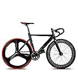 Bazaar 700C Rennrad Fahrrad Aluminium Legierung Rahmen Fixed Gear Feste Cog Back Riding Bahn Fahrrad