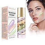 Flüssige Grundierung, Flüssige Foundation, Makeup Primer, 3 Farbe Isolation Cream, Concealer Für Das Gesicht, Unsichtbare Poren, Aknemarkierungen Abdecken,...