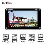 PortKeys BM5 5.2 Zoll Ultra Bright 2200nit 3G SDI/4K HDMI Touchscreen DSLR Kamera Feldmonitor mit 3D LUT, Wavaform, Kamera-Steuerungsfunktionen, Tragbarer...