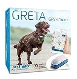 GRETA GPS Tracker Hund von Prothelis inkl. App - Das innovative GPS Gerät für Hunde Made in Germany