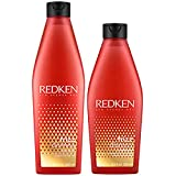 Redken Frizz Dismiss Set - Shampoo 300ml + Conditioner 250ml - Neu