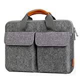 Inateck 13/13,3 Zoll Laptoptasche Hülle Filz Aktentasche kompatibel mit MacBook Air/MacBook Pro 2020 M1-2012/12,3 Zoll Surface Pro X/7/6/5/4/3/13,5 Zoll...