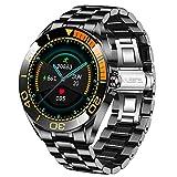 LIGE Herren Smart Watch, IP67 wasserdichte Fitness Tracker Uhren mit Herzfrequenz Blutsauerstoff Blutdruck Überwachun Voll Touchscreen Sport Smartwatch...
