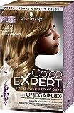 Schwarzkopf Color Expert Intensiv-Pflege Color-Creme 7.32 Dunkles Beige-Blond, 3er Pack (3 x 167 ml)
