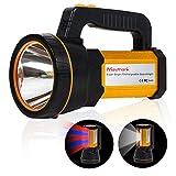 MAYTHANK Extrem helle Wiederaufladbare Taschenlampe Led Batterien 10000mah Akku 4000 Lumen USB Aufladbar Handscheinwerfer Handlampe Gross Suchscheinwerfer...
