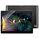 Tablet 10 Zoll Android 8.0, Padgene Android Tablet PC 10,1 Zoll Quad Core IPS HD Pad mit 2G RAM 32G Speicher Dual SIM Slots Dual Kamera WiFi/3G Entsperrt...