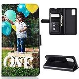 Für Huawei P30 Lite Personalisierte Foto-Handyhülle, Flipcase Personalisierte Individuelle Ihr Eigenes Bild Foto Brauch Schutzhülle Handy Hülle Tasche Flip...