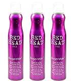 3x Tigi Bed Head Superstar Queen for a Day Volumen-Schaumspray - 311 ml