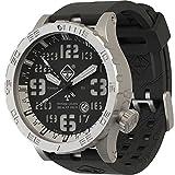 Hazard 4 Uhr Heavy Water Diver - BlackTie White GMT Grün/Gelb